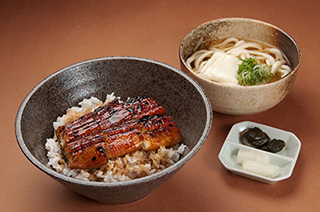 Unagi Bowl Set 2,100 yen