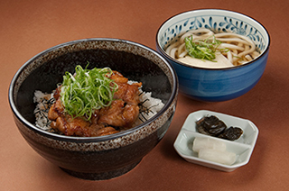 Teriyaki Chicken Bowl Set 1,300 yen